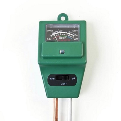 3 in 1 Soil pH and Moisture Tester