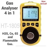 HT-1805  4 in 1 Gas Analyser/Air quality monitoring Meter