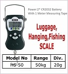 HS-50 Luggage/Hanging Scale HS-50 (50KG 20G)